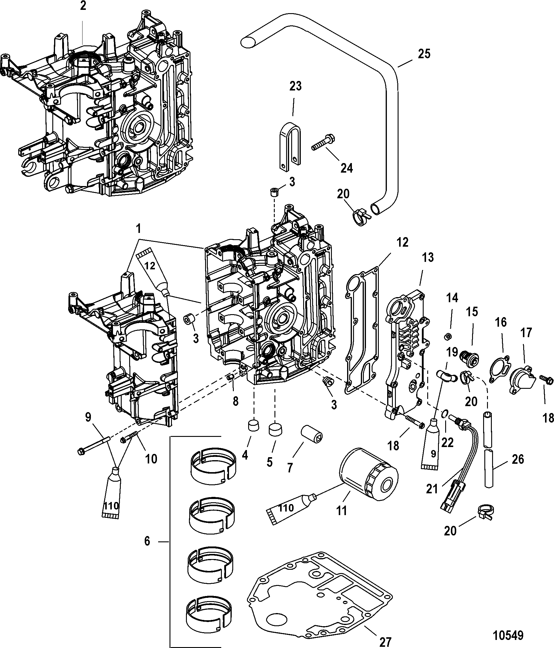mercury outboard 115 hp 6 cylinder wiring diagrams