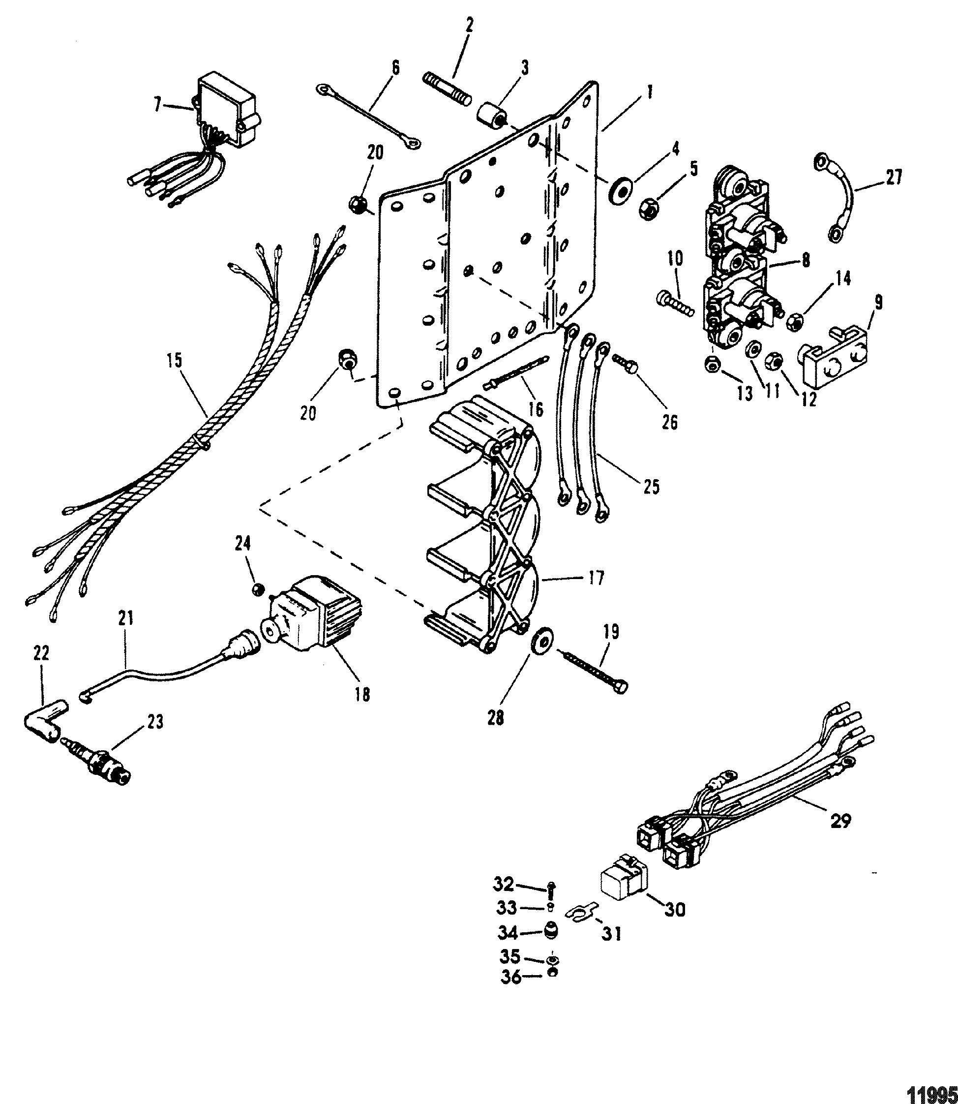 Ignition Coil  Voltage Regulator For Mariner    Mercury 135  150  175  200  Xr6  Magnum Iii
