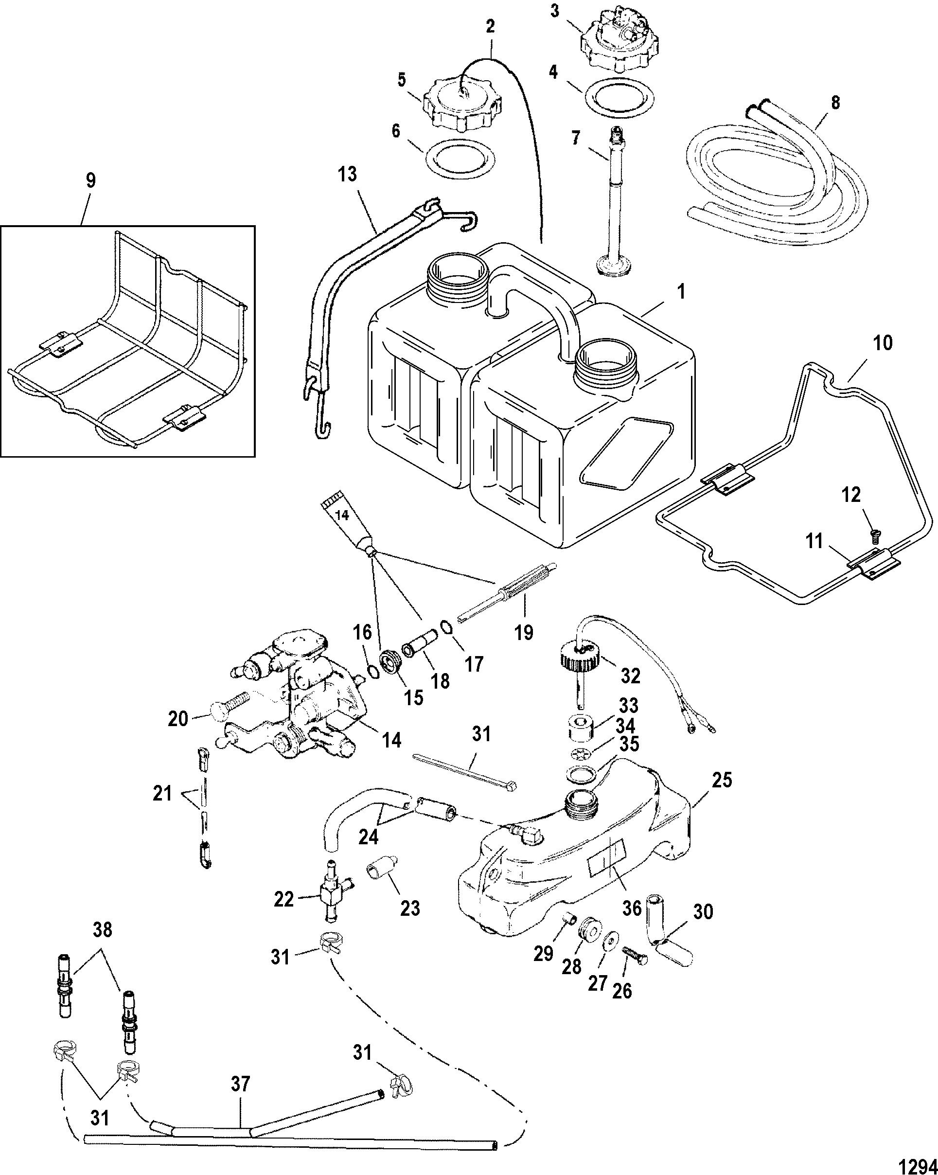 oil injection components for mariner mercury 135 140 150. Black Bedroom Furniture Sets. Home Design Ideas