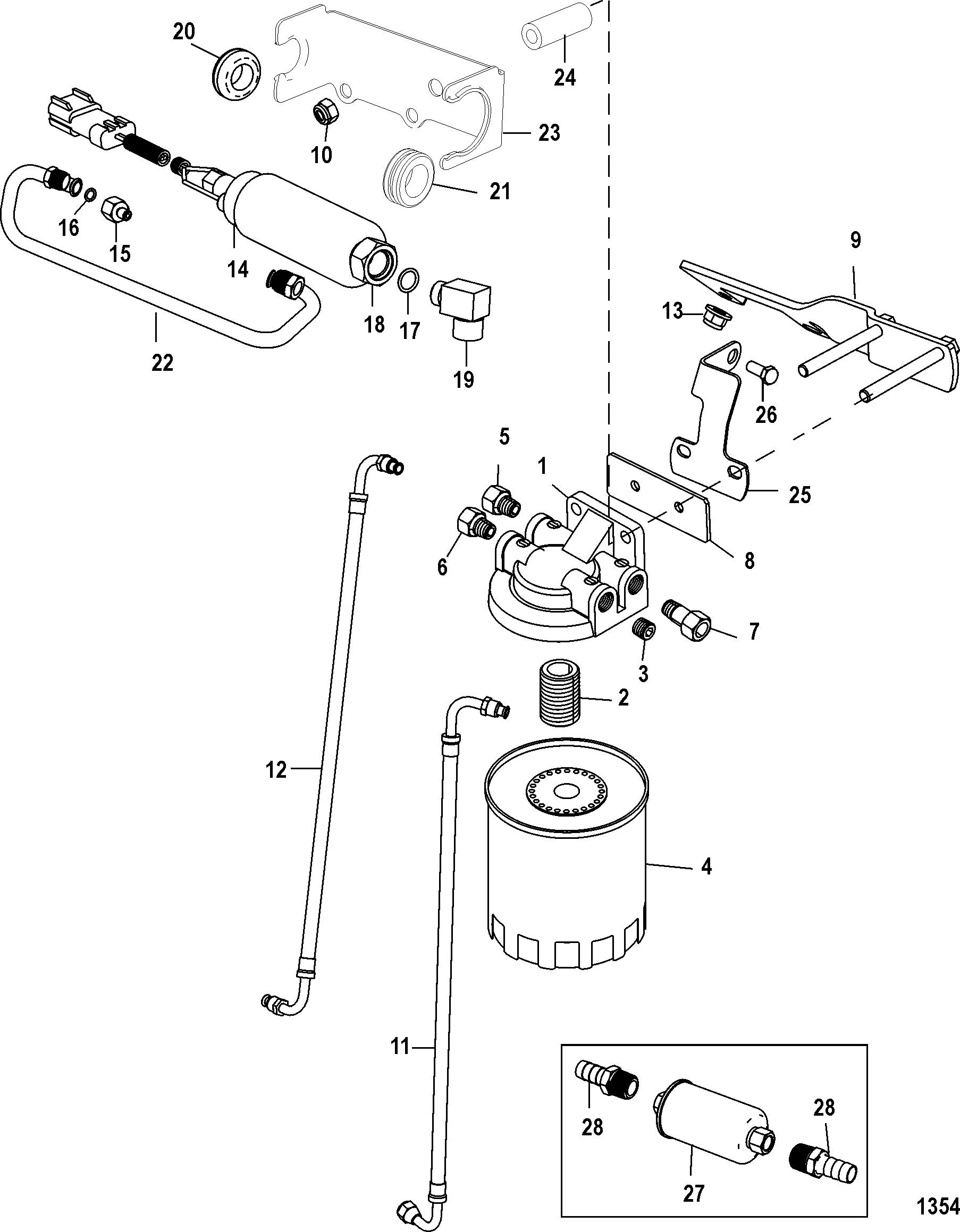 Mercruiser 350 mag water flow diagram