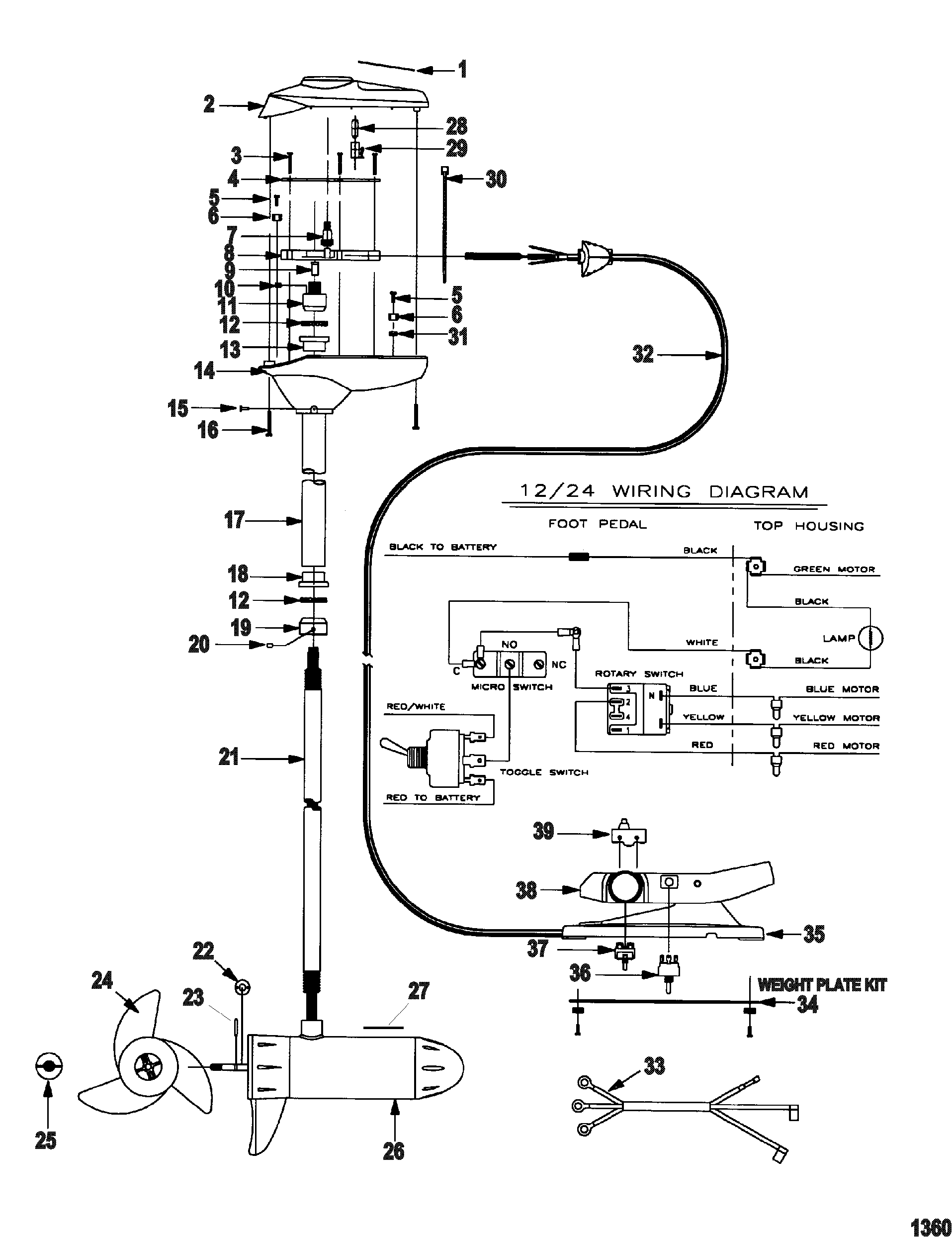 motorguide parts diagram  motorguide  get free image about
