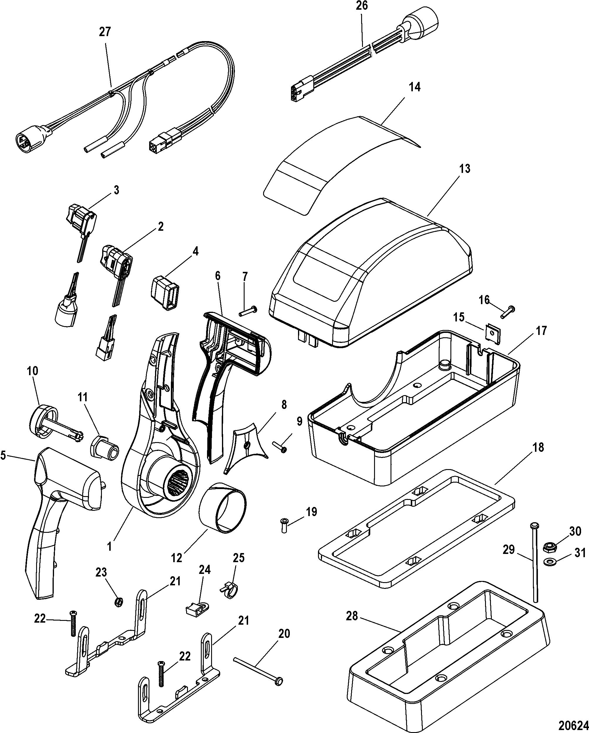 20624 Quicksilver Remote Wiring Diagram on
