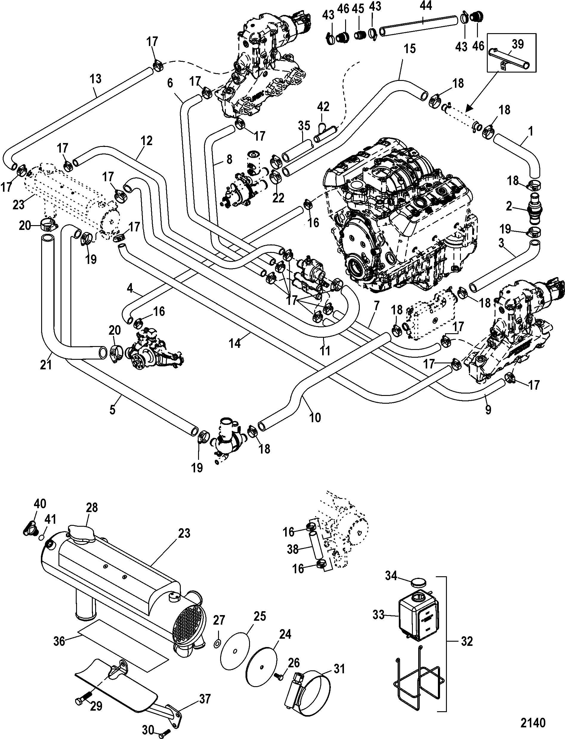 Duramax Lb7 Engine Parts Diagram further RepairGuideContent as well Chevysmallblockbasic 01 together with V8 Engine Clip Art moreover 3800 Series 2 Engine Performance Parts. on 350 chevy engine supercharged