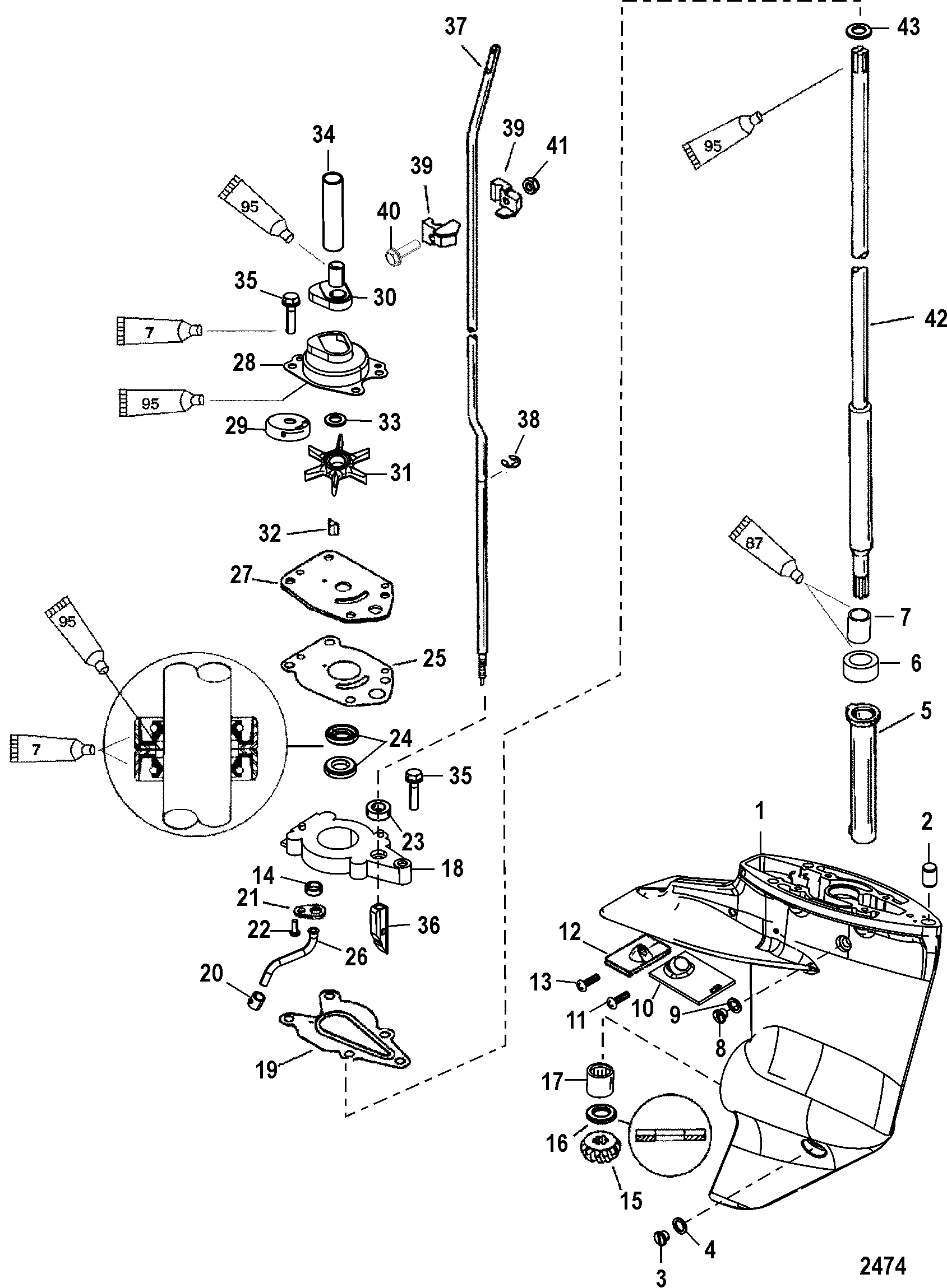 Show product on mercury outboard wiring diagram