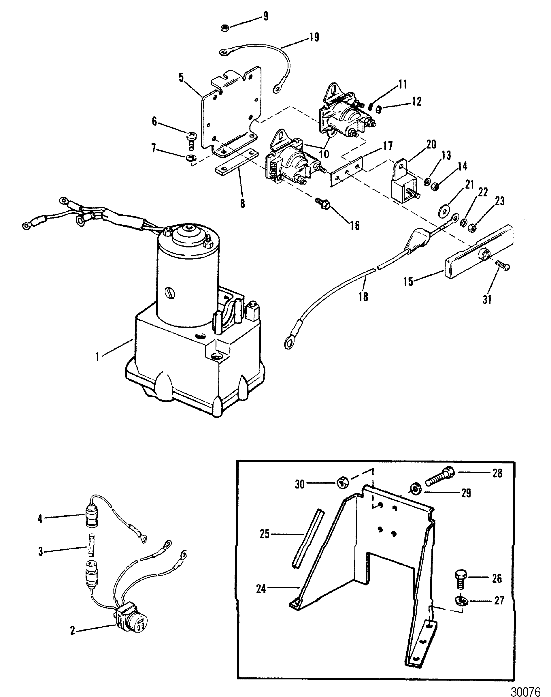 hydraulic pump and bracket pretolite pump for mercruiser r ... mercruiser pump diagram