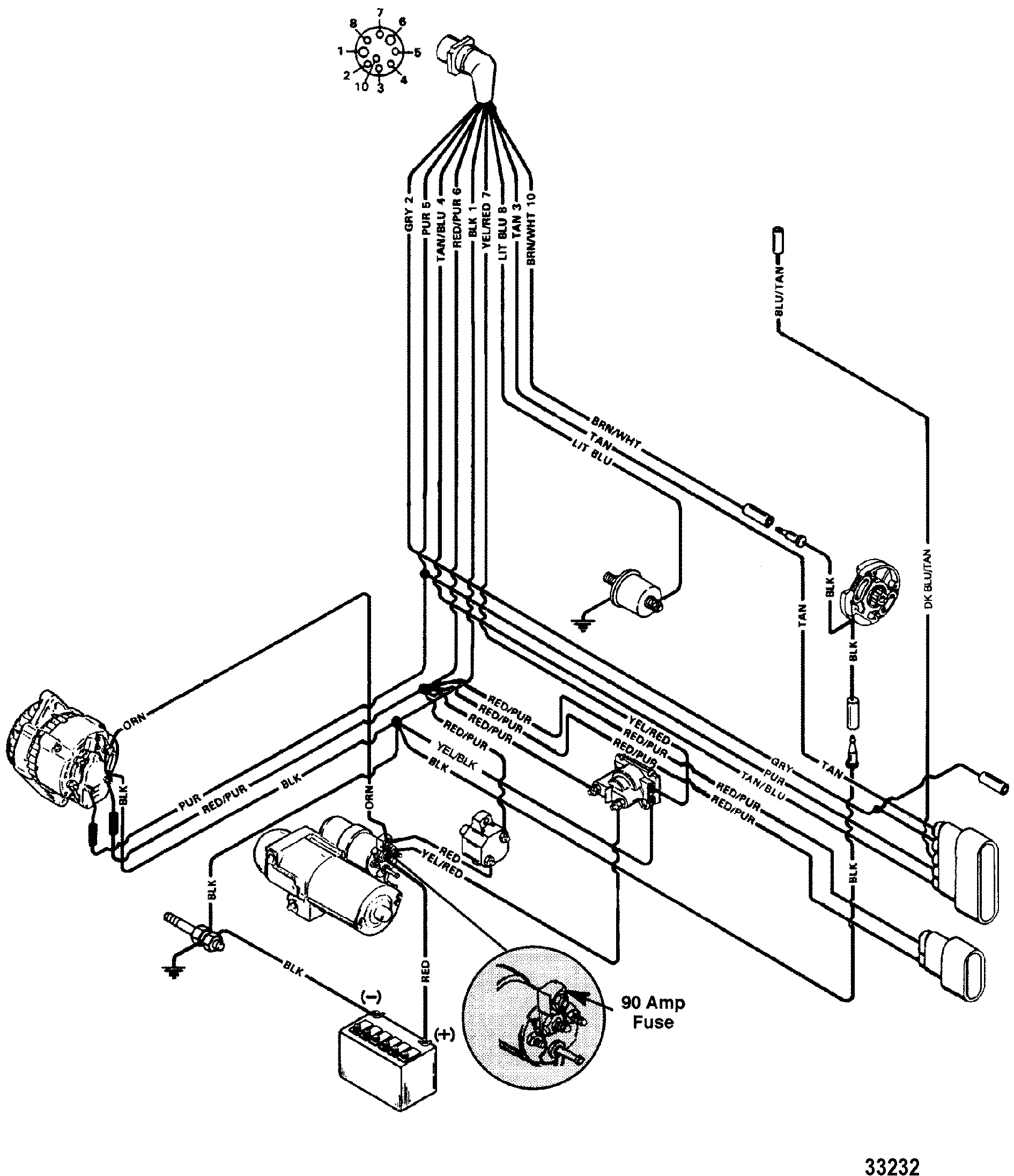 1993 4 3 volvo penta engine wiring diagram #1 volvo penta starter wiring diagram Volvo Penta Cooling System Diagram Volvo Penta Repair Manuals PDF