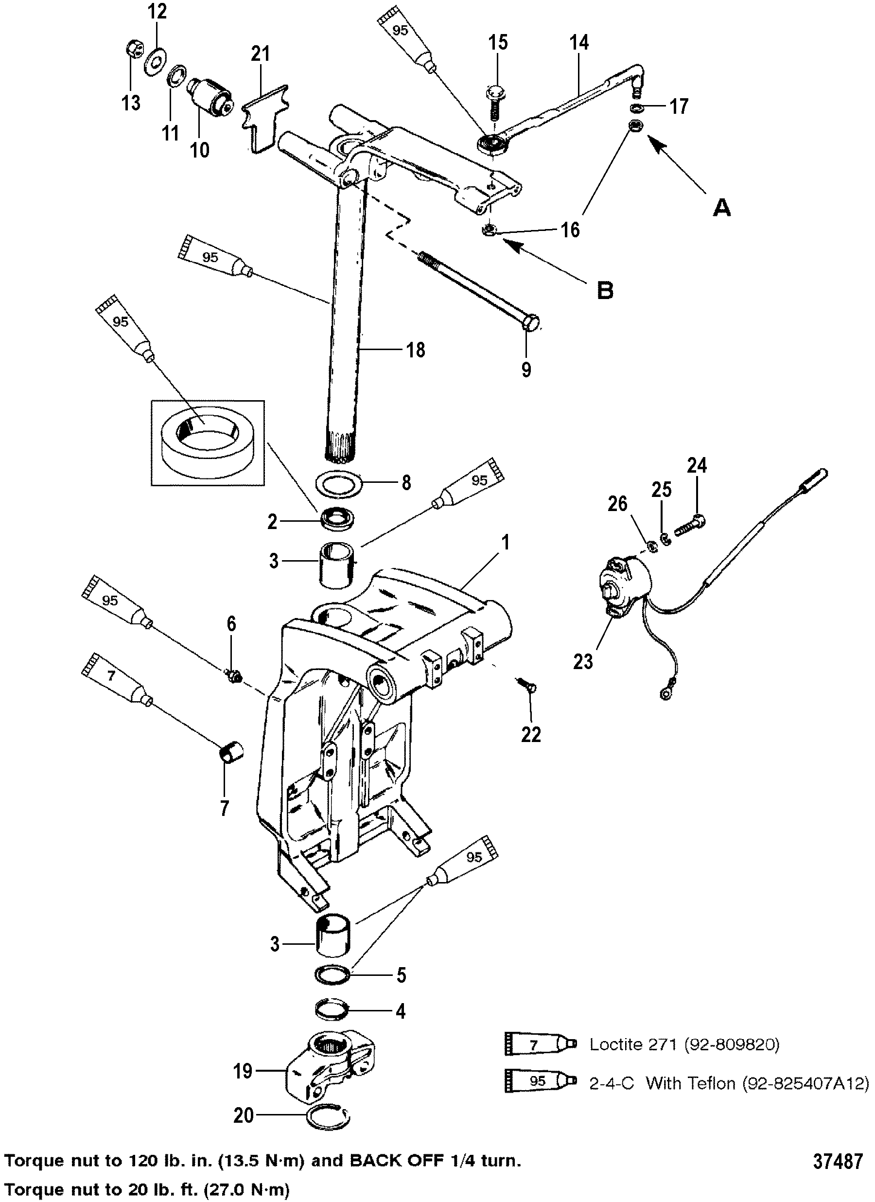 Lane Recliner Handle Partslazy Boy Parts Of How To Patent Us6612141 Interconnected Lock With Remote Locking Mechanism Swivel Bracket And Steering Arm For Mariner Mercury 150