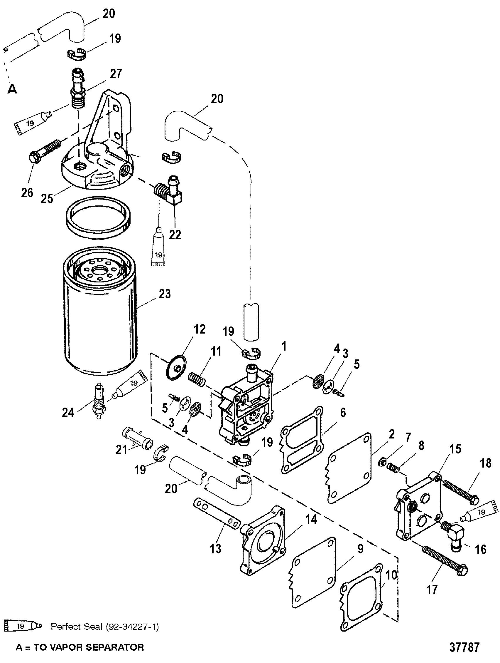 dauntless 225 engine fuel pump  dauntless  free engine
