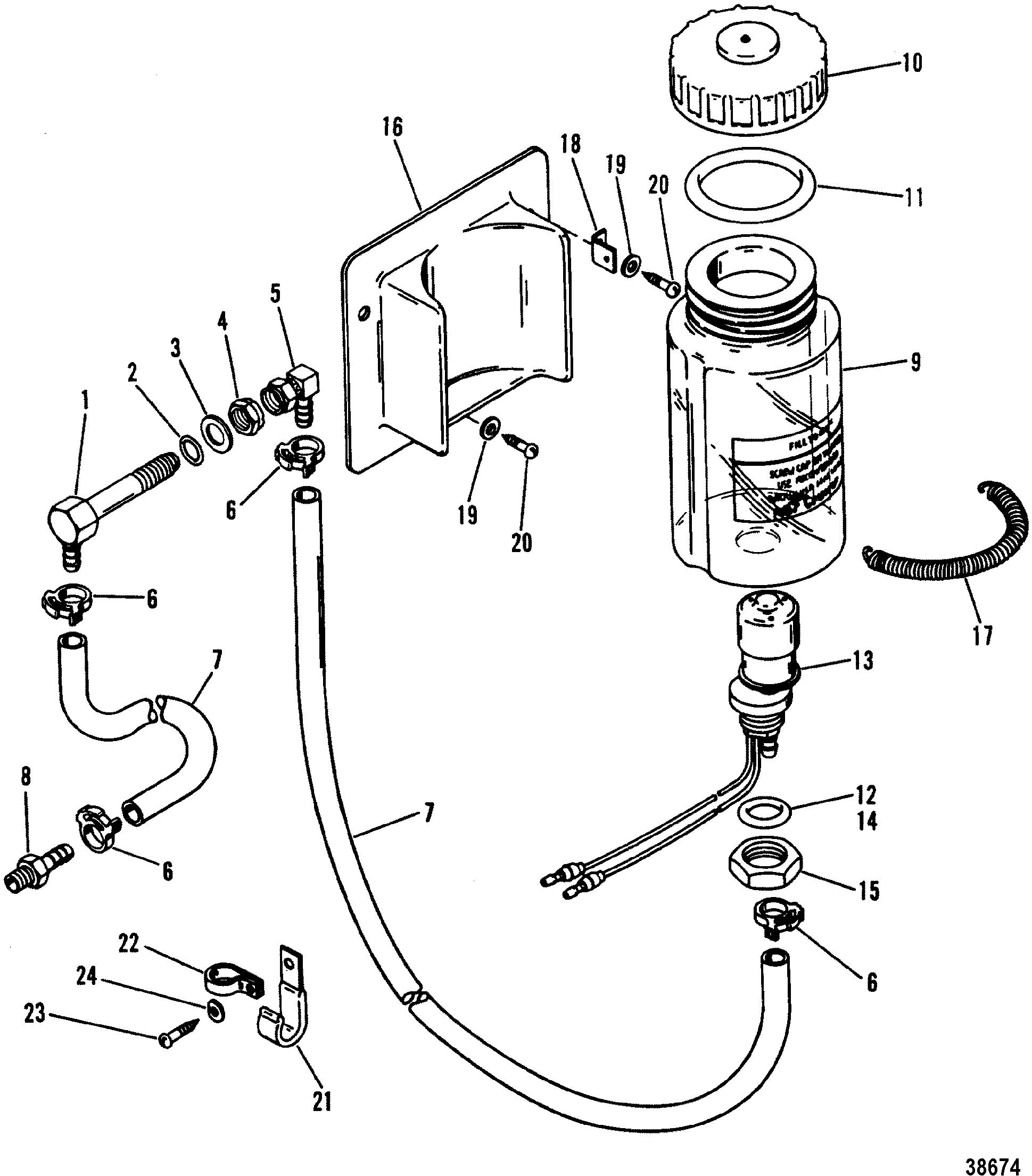 how to change oil mercruiser 5.7