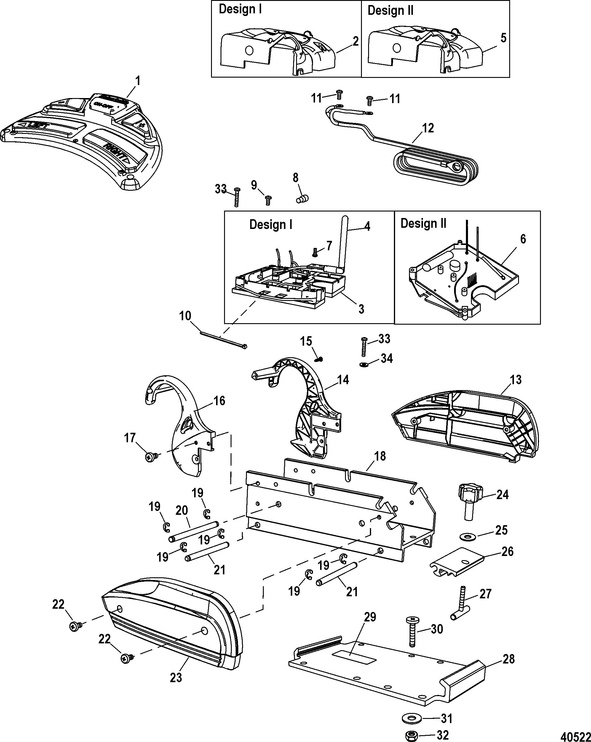 electrical  u0026 mount components salt water for motorguide