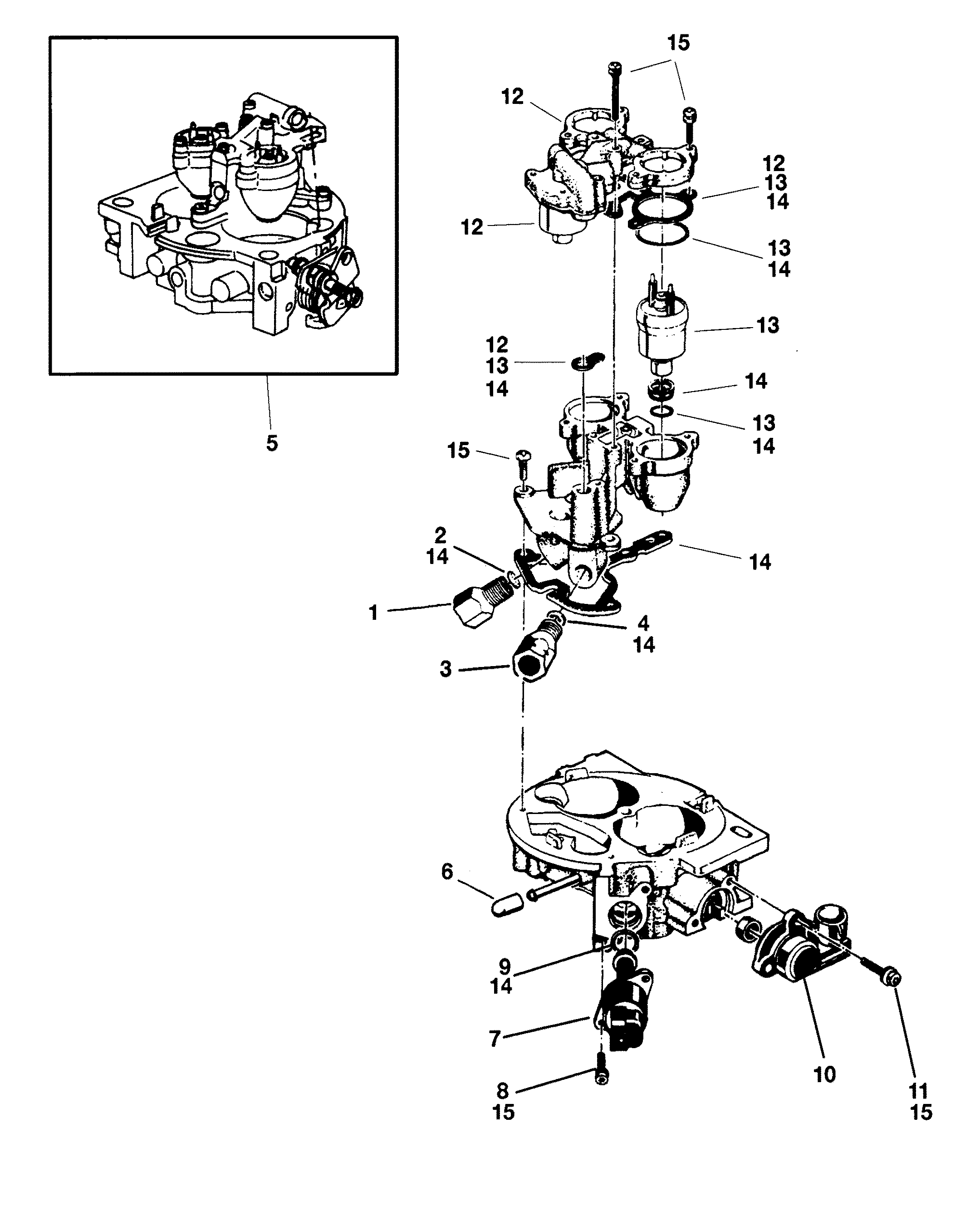 gm tbi fuel fittings  gm  free engine image for user