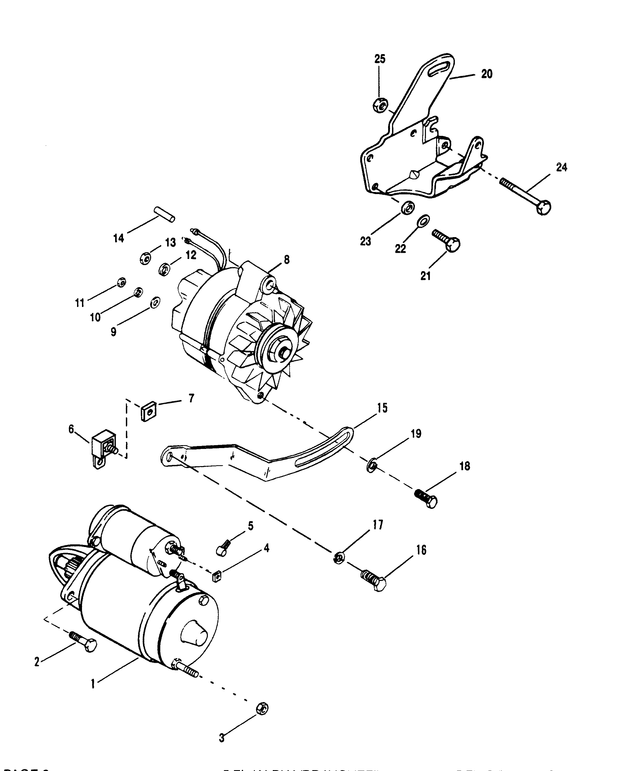 1997 Mercruiser 5 7 Starter Wiring Great Installation Of Trim Motor Diagram And Alternator For 7l Alpha Efi
