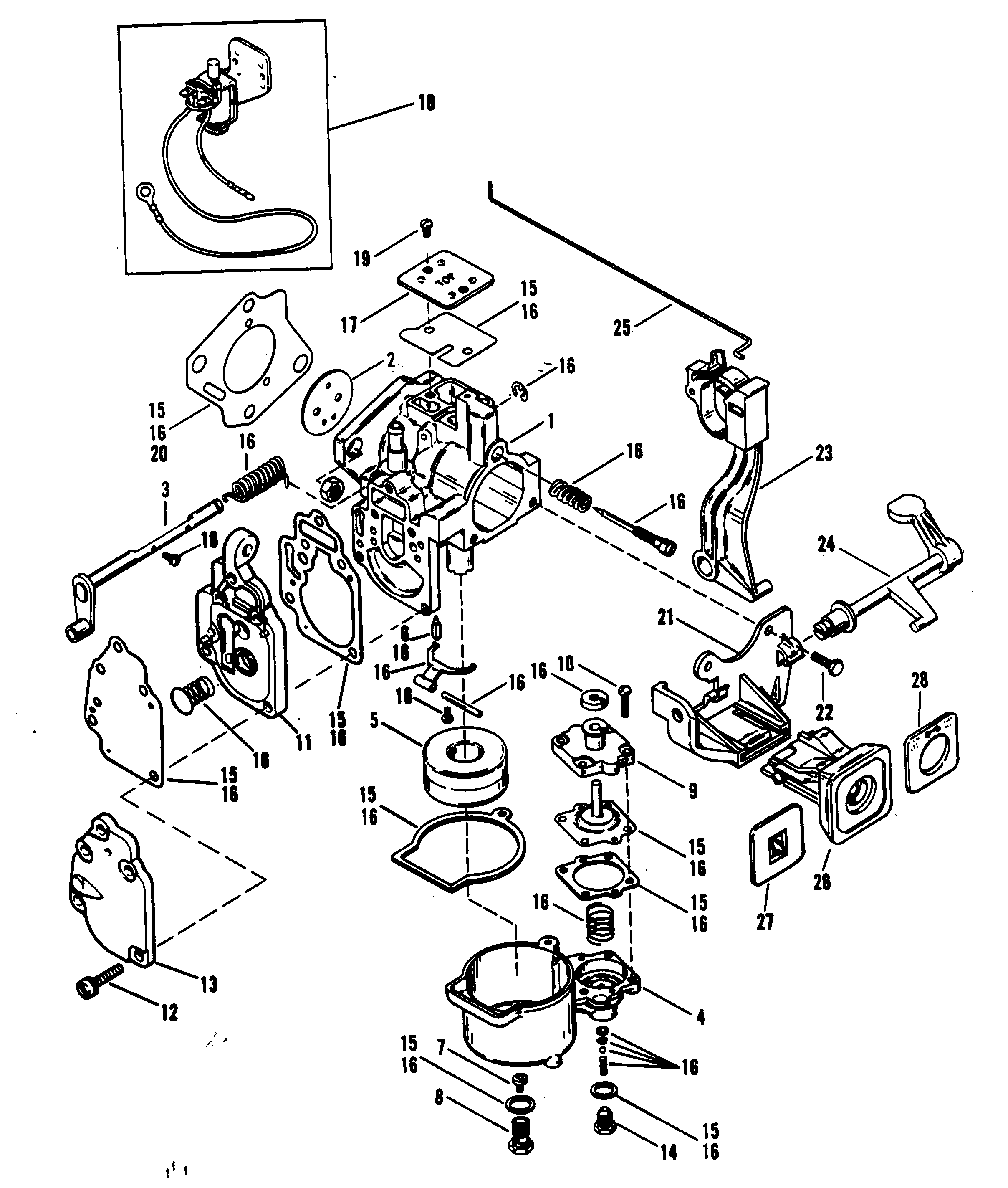 25 hp mercury outboard parts diagram  25  get free image
