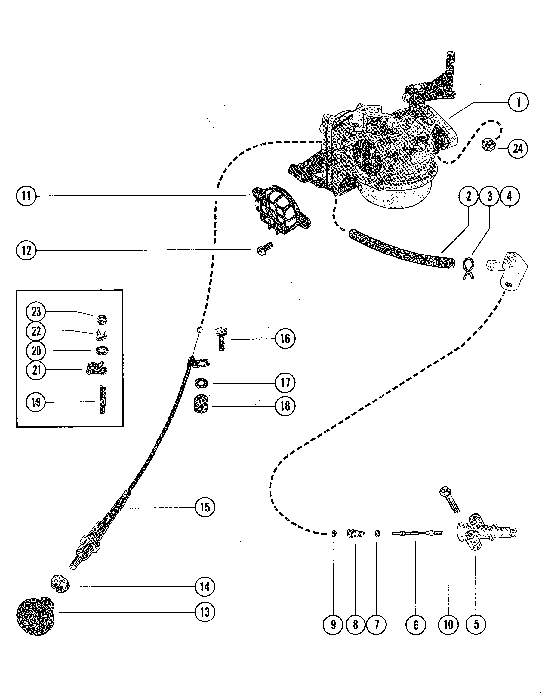 yamaha 8 hp outboard wiring diagram carburetor and choke assembly for mercury merc 110