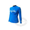 Body Glove Basic Long Arm Lycra Shirt - Bonnie Blue