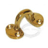 Sea-Dog Pad Eye - Polished Cast Brass