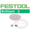 Festool RO 90 StickFix Brilliant 2 3.5 inch Disc Abrasives