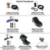 Garmin Transducers for GPS, depth sounders, map plotters, and fish finders