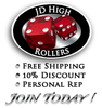 JD High Rollers Package