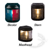 Aqua Signal Bulkhead Mount Navigation Lights