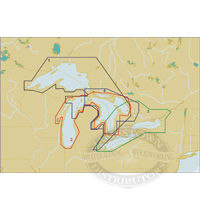 C-Map NT+ C Card/FP Format - North American Great Lakes
