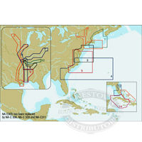 C-Map NT+ C Card/FP Format - N.A. East Coasts & Rivers