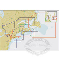 C-Map NT+ C Card/FP Format- Eastern Canada