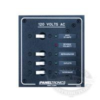 Paneltronics Standard AC 10 Position Breaker Panel & Main