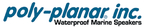 Poly-Planar marine stereo equipment