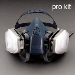 3M 7500 HalfMask Facepiece Respirator