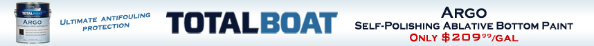 TotalBoat Argo Self-Polishing Ablative Bottom Paint