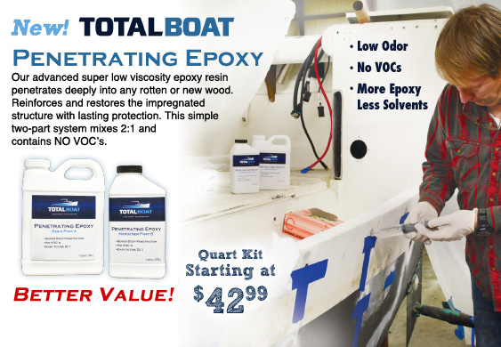 TotalBoat Clear Penetrating Epoxy