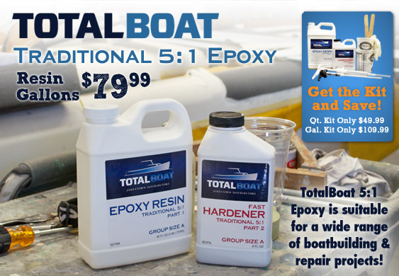 5 to 1 Epoxy Kits