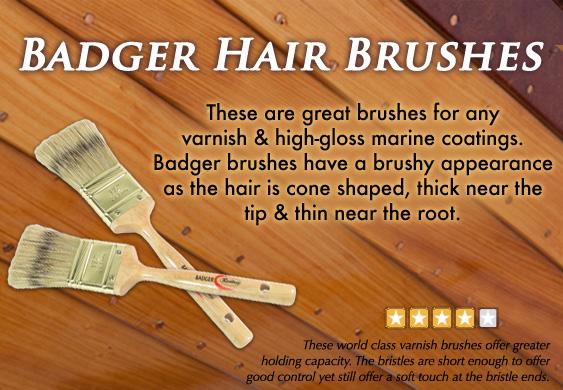 Badger Hair Brushes