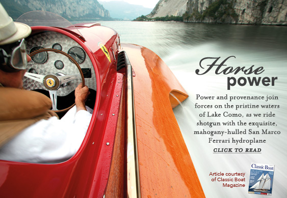 Classic Boat - Horse Power