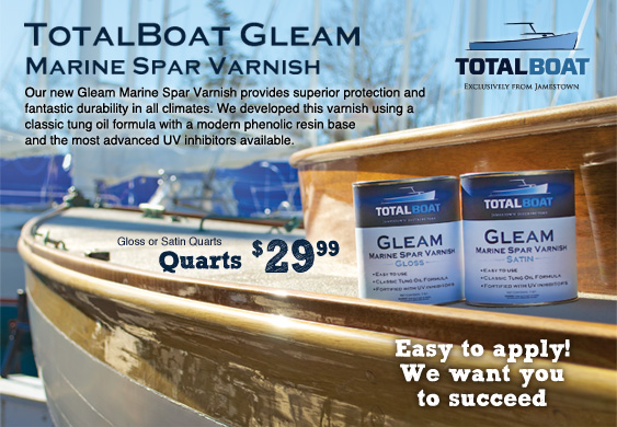 TotalBoat Gleam Varnish