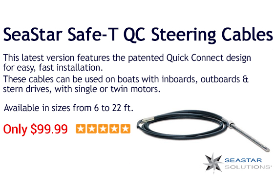SeaStar Steering Cables