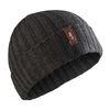 Gill Wide Rib Knit Beanie Hat HT33 Graphite