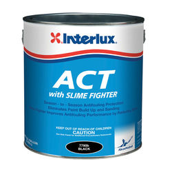 Interlux Fiberglass Bottomkote ACT, antifouling paint, marine paint