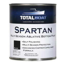 TotalBoat Spartan High Copper Ablative Bottom Paint Quart Size
