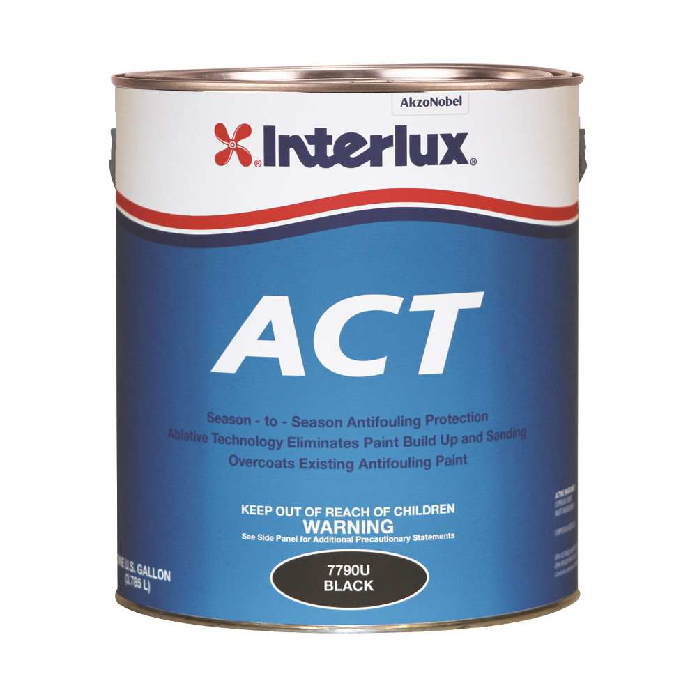 Interlux act ablative bottom paint with slime fighter nvjuhfo Choice Image