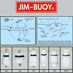 Cal-June Deluxe Mooring Buoys