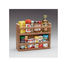 two-tier TEAK SPICE RACK