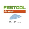 Festool StickFix Granat Abrasives for Deltex DTS 400 Sander