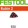 Festool StickFix Rubin 2 Abrasives for Deltex DX 93 E Sander