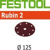 Festool StickFix Rubin-2 5 inch Discs for RO 125 and ES 125 Sanders