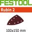 Festool StickFix Rubin 2 Abrasives for Delta DS 400 EQ Sander