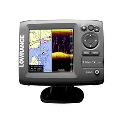 Lowrance Elite-5 DSI GPS with Sonar