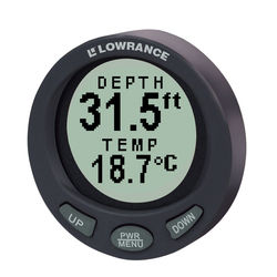 Lowrance LST-3800 In-Dash Digital Depth Finder and Temperature