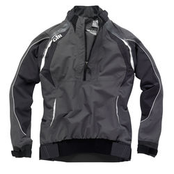 Gill Womens Pro Top (Graphite) (Front)